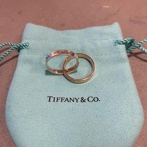 Tiffany & Co interlocking ring